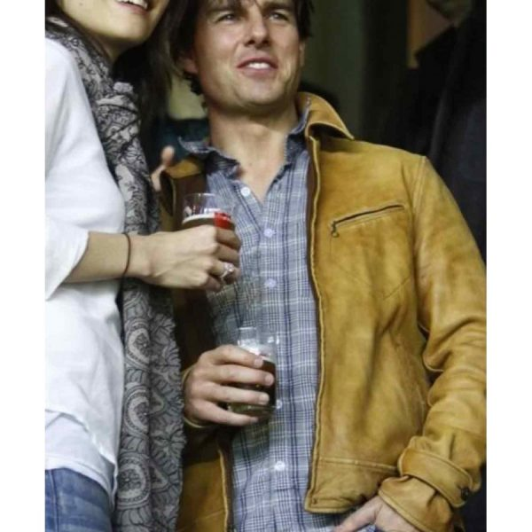 Roy Miller Knight And Day Tom Cruise Leather Jacket-0