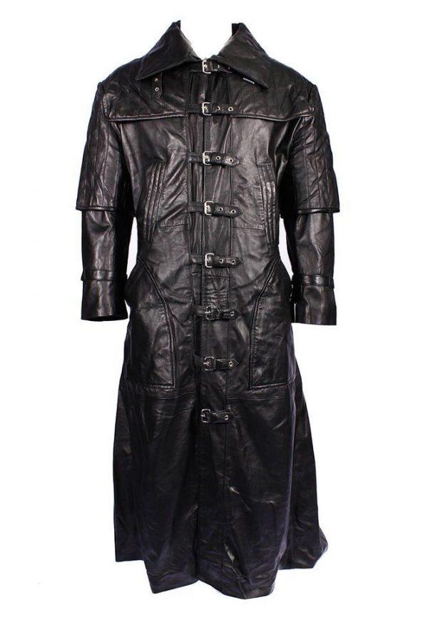 Hugh Jackman Gabriel Black Trench Coat