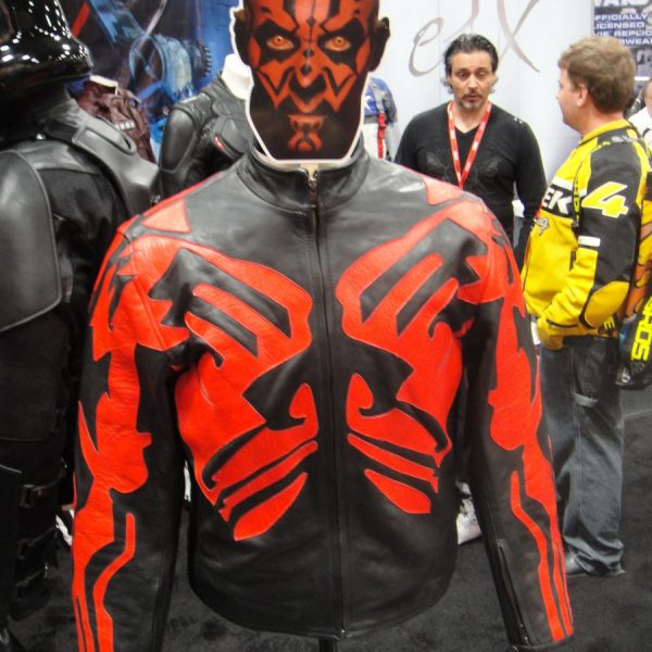 Darth Maul Star Wars Leather Jacket-0