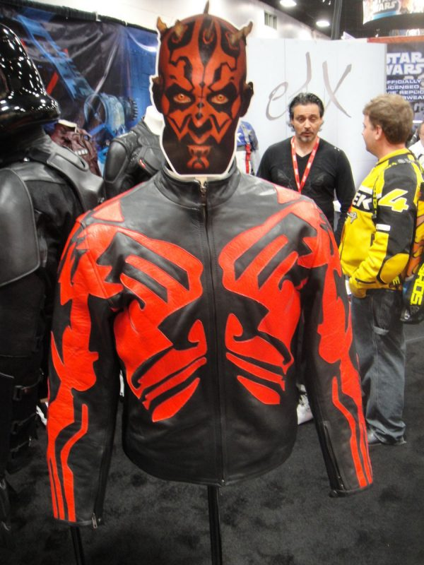 Darth Maul Star Wars Leather Jacket-0