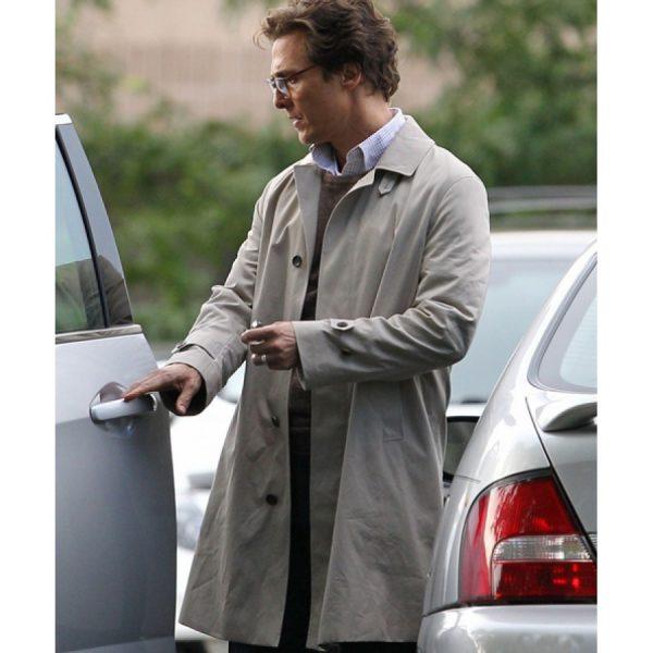 Matthew Mcconaughey Cotton Jacket