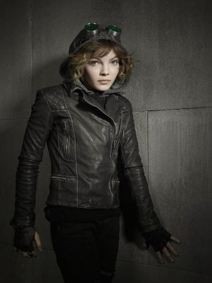 Camren Bicondova Selina Kyle Gotham Leather Jacket-0