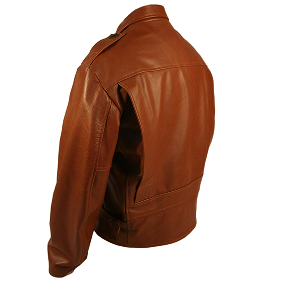 The Rocketeer Leather Brown Jacket