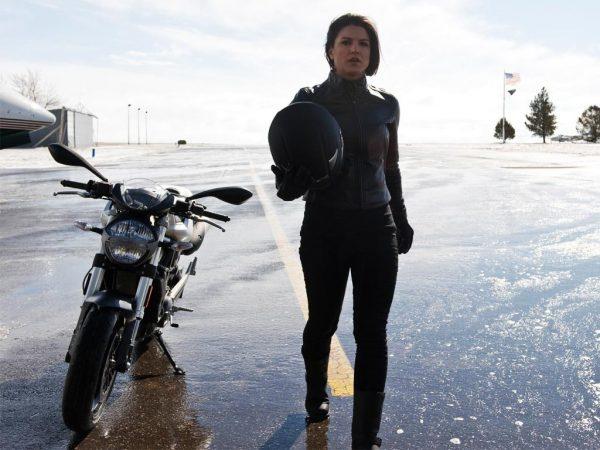 Gina Carano Haywire Black Jacket