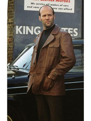 The Bank Job Jason Statham Leather Jacket-0