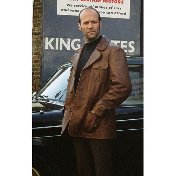 The Bank Job Jason Statham Leather Jacket-0