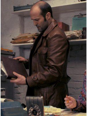 The Bank Job Jason Statham Leather Jacket-4445