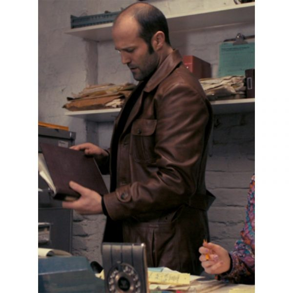 The Bank Job Jason Statham Leather Jacket-4445