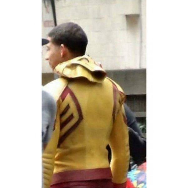 The Flash Season 3 Leather Jacket