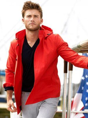 Luke Collins The Longest Ride Scott Eastwood Jacket with Hoodie-0