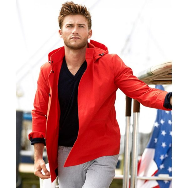 Luke Collins The Longest Ride Scott Eastwood Jacket with Hoodie-0