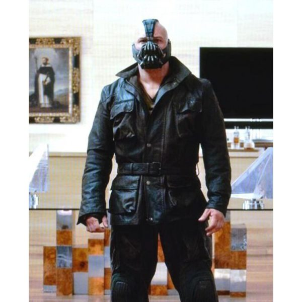 Dark Knight Bane Leather Jacket-0