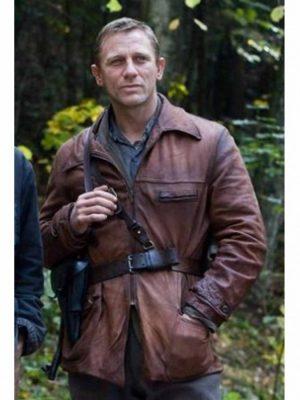 Tuvia Bielski Defiance Daniel Craig Leather Jacket-0