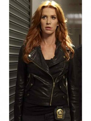 Carrie Wells Unforgettable Leather Jacket-0