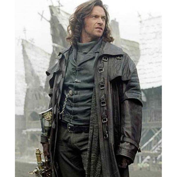 Van Helsing Leather Trench Coat