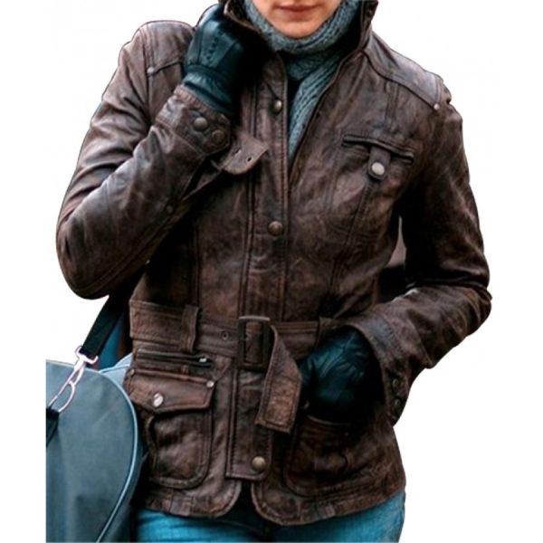 Kathryn Bolkovac The Whistleblower Rachel Weisz Leather Jacket-0