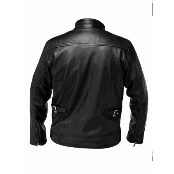 Scott Motorcycle Leather Jacket from X-Men 3