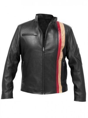 Scott X-Men 3 Motorcycle Leather Jacket