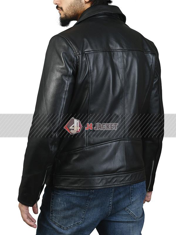 Eddie Redmayne Leather Jacket