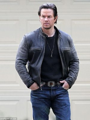 Mark Wahlberg Daddys Home Black Jacket