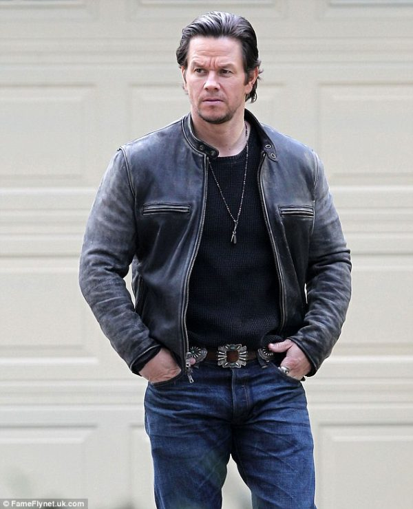 Mark Wahlberg Daddys Home Black Jacket