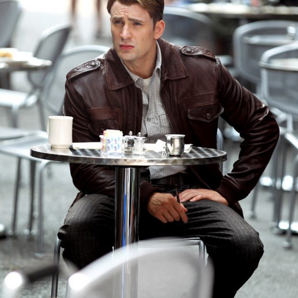 Avengers Age of Ultron Chris Evens Leather Jacket