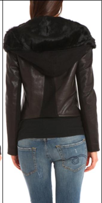 Shakira Shearling Leather Jacket