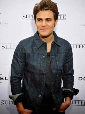 Paul Wesley Before I Disappear Denim Jean Jacket-0