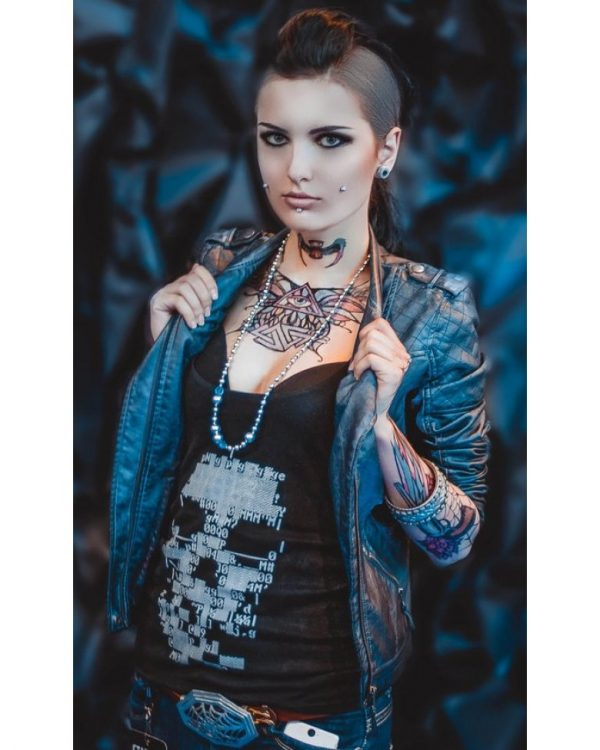 Watch Dogs Clara Lille Quilted Leather Jacket