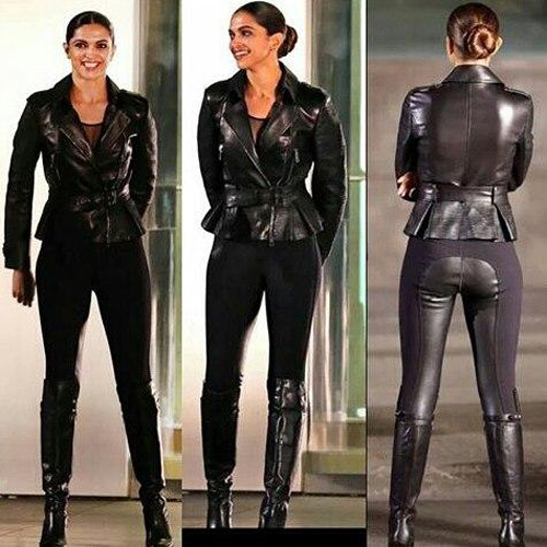 xxx Return of Xander Cage Deepika Padukone BikerLeather Jacket