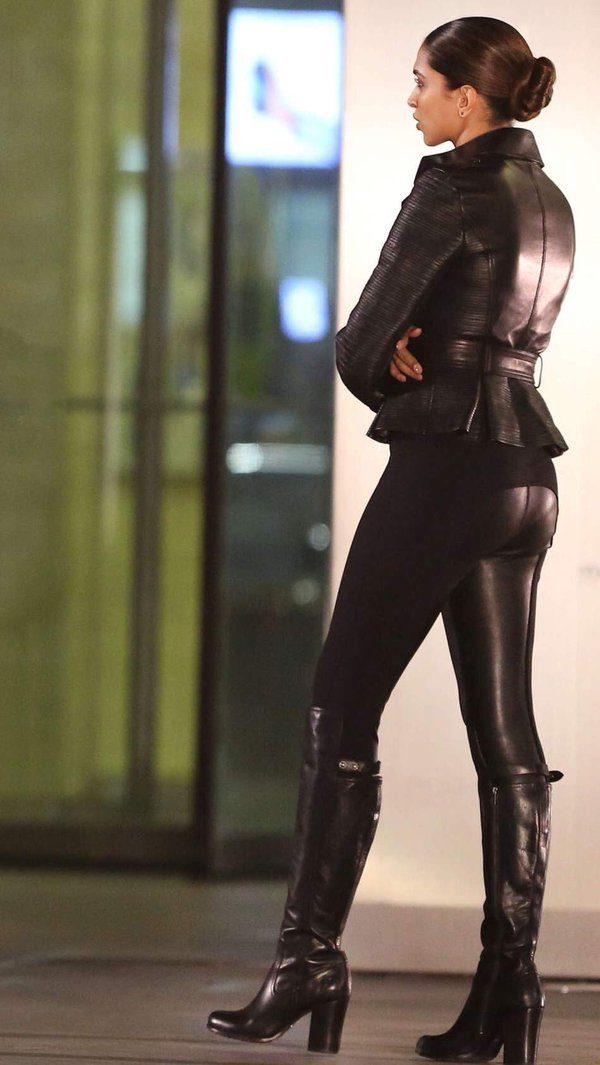 Xander Cage Deepika Padukone Black Jacket