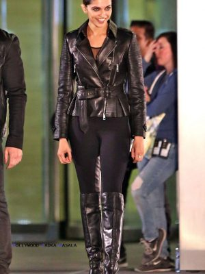 Deepika Padukone Black Leather Jacket xxx Return of Xander Cage-0
