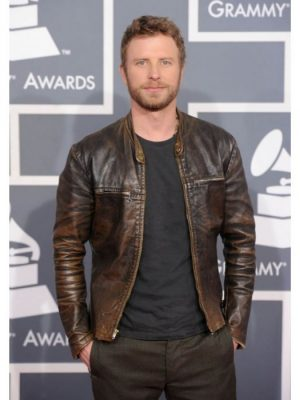 Dierks Bentley Brown Grammy Awards Jacket -0
