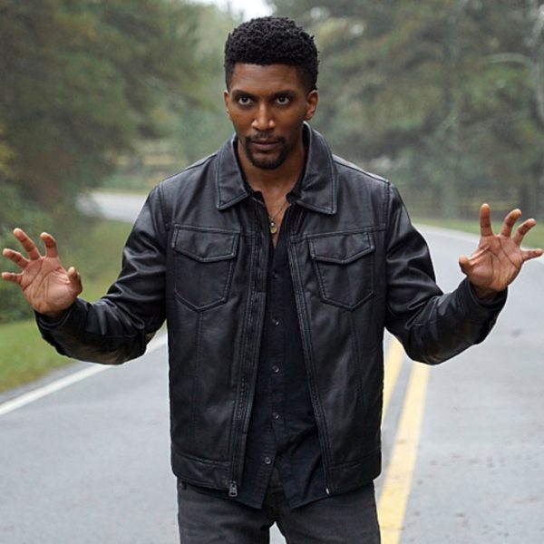 Yusuf Gatewood Black Leather Jacket The Orignal Season-0