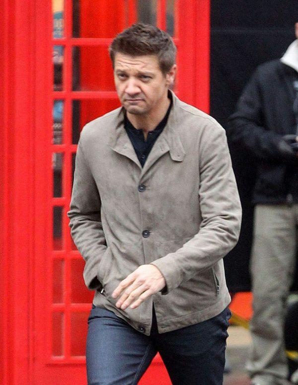 Jeremy Renner Leather Jacket MI5