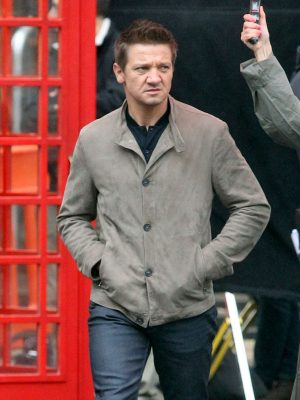 Jeremy Renner Leather Jacket Mission Impossible 5-0