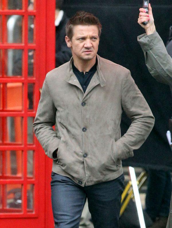 Jeremy Renner Leather Jacket Mission Impossible 5-0