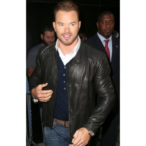 Kellan Lutz The Expendables 3 Black Jacket