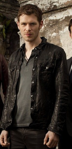 Joseph Morgan Black Leather Jacket The Originals Season-0