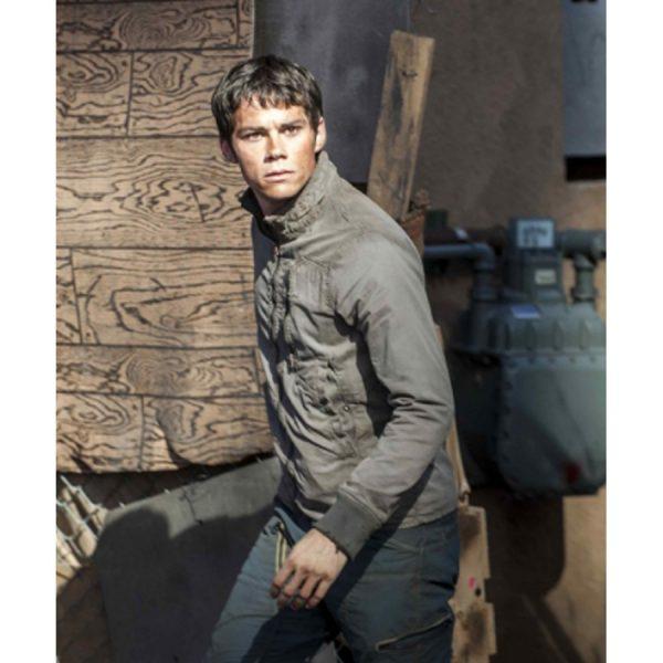 Dylan O'Brien Maze Runner Grey Cotton Jacket