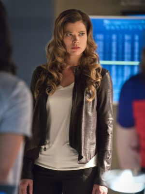 Lisa Snart Leather Jacket Series The Flash-0