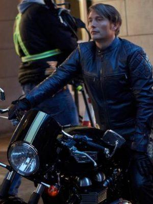 Hannibal Mads Mikkelsen Black Jacket