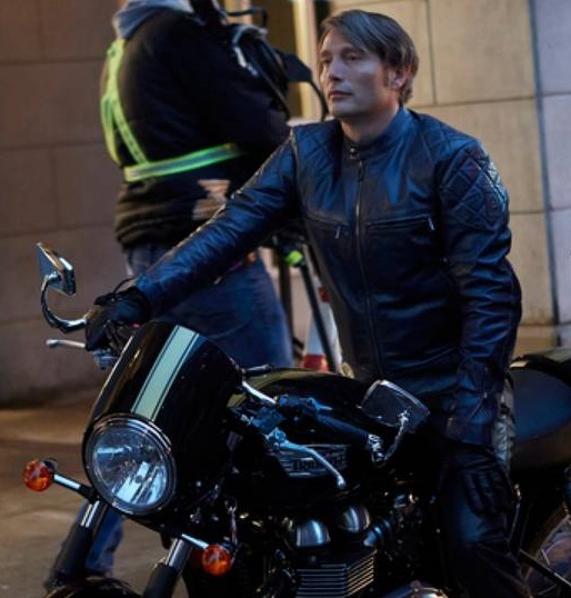 Hannibal Mads Mikkelsen Black Jacket