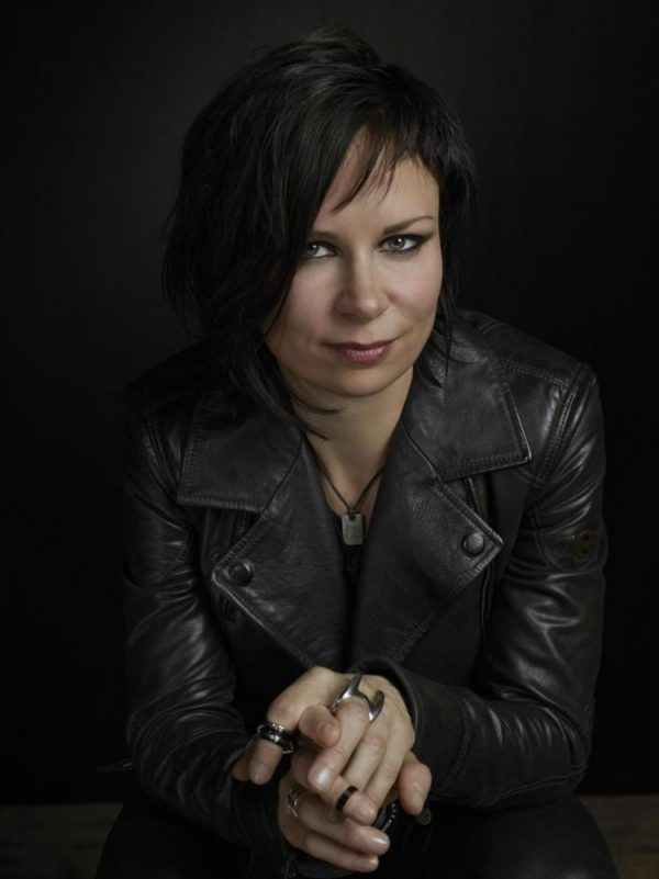 Mary Lynn Rajskub Black Leather Jacket 24 Live Another Day -0