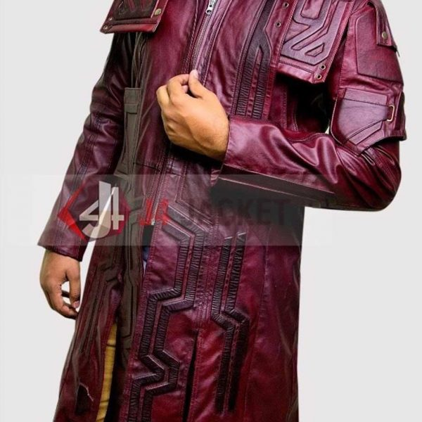 Guardians Of The Galaxy Vol 2 Star Lord Coat-0
