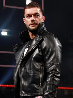WWE Finn Balor Biker Jacket