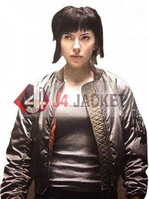 Major Motoko Ghost In The Shell Scarlett Johansson Jacket