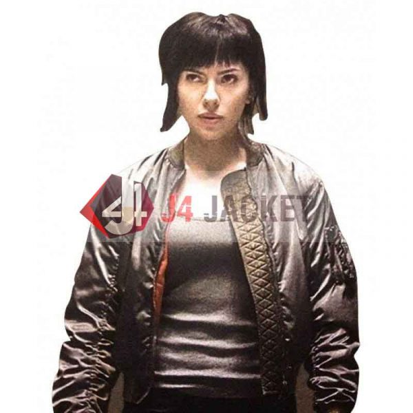 Major Motoko Ghost In The Shell Scarlett Johansson Jacket