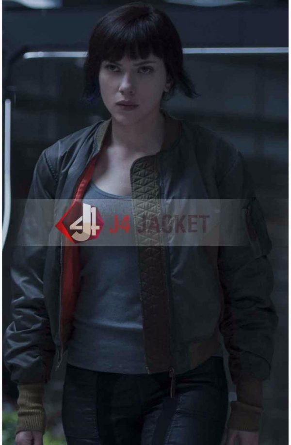 Ghost In The Shell Scarlett Johansson Jacket