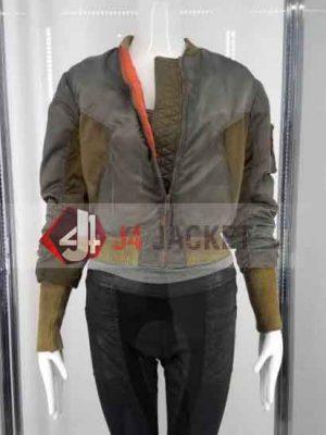 Ghost In The Shell Scarlett Johansson Jacket Major Motoko Jacket-0